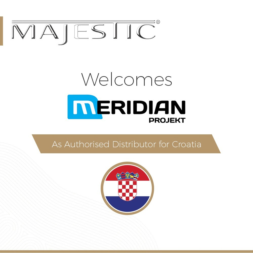 Majestic Electronics 12 Volt LED TVs expands into Croatia with Meridian Projekt