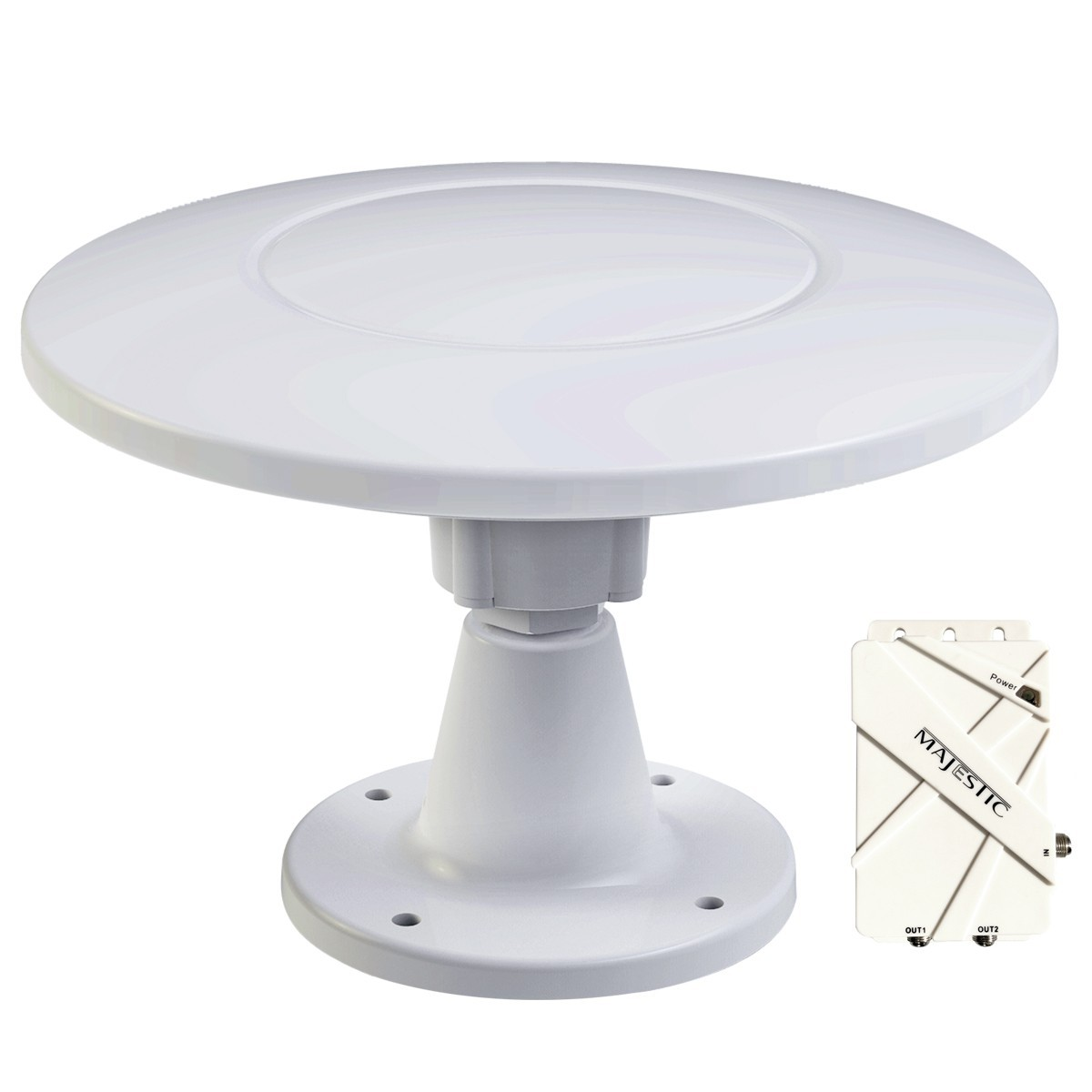 Majestic UFO X High Performance TV antenna - The Best Marine TV Antenna out there